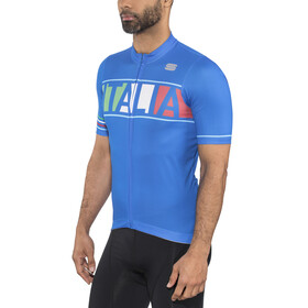 Sportful Italia Jersey Men Electric Blue